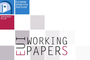 EUI Law Working Papers